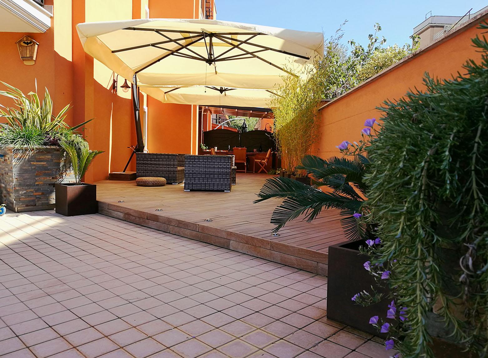 Progettazione Esterni Casa : Openspace architettura d esterni realizzazione giardini roma